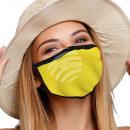 Mundschutz Atemschutzmaske mit Motiv einfarbig