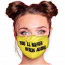 Motif face mask respirator you'll never walk