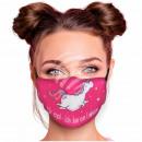 Adjustable motif masks black I don't care