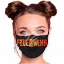 Adjustable black fire brigade masks