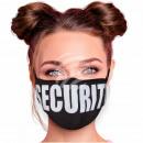 Justerbara svarta säkerhetsmasker
