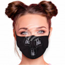 Adjustable motif masks black blah blah