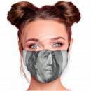 Benjamin Franklin knows adjustable motif masks