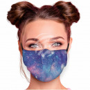 Adjustable motif masks multicolor galaxy stars