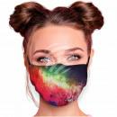 Adjustable motif masks multicolor galaxy stars
