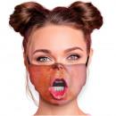 nagyker Drogéria és kozmetika: Szájvédők MNS nyomtatott motívum maszkok szövet ma