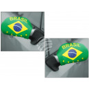 Car mirror flag car mirror flag Brazil