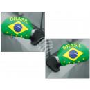 Autospiegelflaggen Autospiegelfahne Brasilien