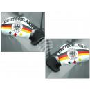 Großhandel Geschenkartikel & Papeterie: Autospiegelflaggen  Autospiegelfahne Deutschland