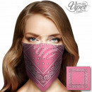 grossiste Vetement et accessoires: BA-092 Bandana Paisley rose