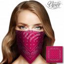 Bandana Kopftuch Halstuch Paisley pink