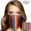 Bandana Kopftuch Halstuch Streifen multicolor