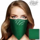 Bandana Kopftuch Halstuch unifarben dunkelgrün