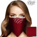 Red single-colored neckerchief bandana