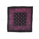 Bandana scarf Paisley black