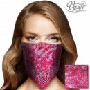 Bandana Kopftuch Halstuch pink Paisley Blüten