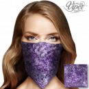Bandana Kopftuch Halstuch violett lila Flieder
