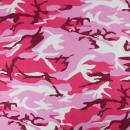 Bandana Kopftuch Halstuch pink Camouflage