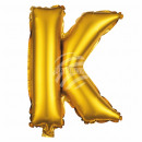 Foil balloon helium balloon gold letter K