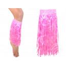 Hawaii-Beinstulpen Farbe pink