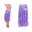 Hawaii-Beinstulpen Farbe lila