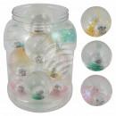 LED Flummi Springball Dopsball, 13 Bälle