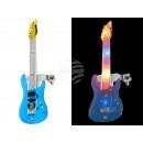 Großhandel Musikinstrumente: Blinki Blinker Gitarre blau