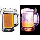 Blinki Blinker Bier weiss gelb