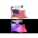 Blinki Blinker Flagge USA rot weiss blau