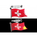 Blinki Blinker Flagge Schweiz rot weiss