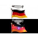 Blinki Blinker Flagge Deutschland schwarz rot gelb