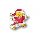 Blinki Blinker Weihnachtsteddy rot gelb
