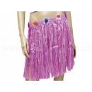 Hawaiian grass skirts - short - pink