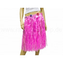 Hawaii-Baströcke - lang - Farbe pink