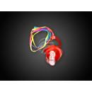 wholesale Baby Toys: BS-02 Blink-Schnulli - Leuchtschnulli red