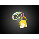 grossiste Jouets pour bebes: Blink-Schnulli - sucette lumineuse jaune