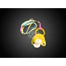 Großhandel Babyspielzeug: Blink Schnuller Schnulli gelb