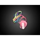 wholesale Baby Toys: BS-06  Blink-Schnulli - Leuchtschnulli pink