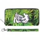 wholesale Wallets: Scene purses Weed & hands with money green