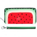Scene Wallets watermelon green