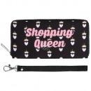 groothandel Tassen & reisartikelen: Scene portemonnees Shopping Queen Black