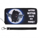 wholesale Pet supplies: Scene purses Cat Witch better have my money