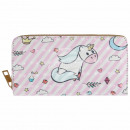 wholesale Wallets: Purse wallet pink white multicolor