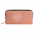 Wallet purse apricot glitter design