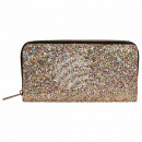Wallet purse gold glitter design