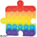 Bubble Toy Pop them, it´s fun Rainbow Puzzle Stück