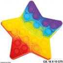 Bubble Toy Pop les, c'est amusant Rainbow Star