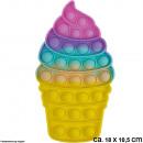 ingrosso Giocattoli: Bubble Toy Pastel Ice Cream circa 18 cm x 10,5 cm