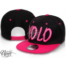 Snapback baseball cap Cap Hat Caps YOLO