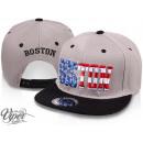 Großhandel Fashion & Accessoires: Snapback Cap Basecap USA US City BOSTON